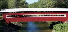 Located in Fishing Creek Township, Columbia County, Pennsylvania, East and West Paden are the only twin covered bridges in the United States. (Photo of Twin Covered Bridges: Courtesy of Ingrid Barnes)