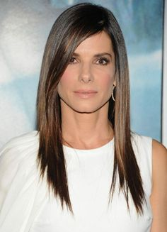 Long hairstyle. 45º angle layers. Side fringe. Come back in 4-6 weeks for trim and color. Take home all soft and hot sets 22.