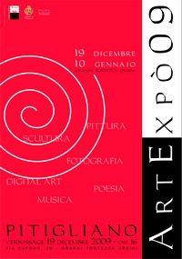 ARTEXPO' 2009 dal 19 Dicembre 2009 al 10 gennaio 2010, Granai di Palazzo Orsini PITIGLIANO (Grosseto)