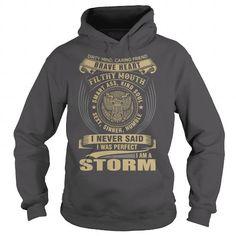 STORM T Shirts, Hoodies. Check price ==► https://www.sunfrog.com/Names/STORM-116063016-Charcoal-Hoodie.html?41382