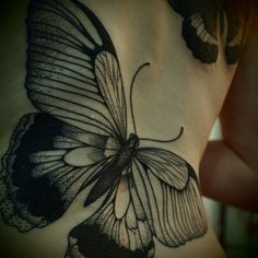 I don't care, I want a butterfly on my arm!  Guy Le Tattooer