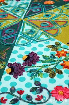 Gipsy Quilt: Broderie