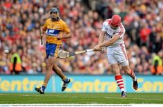 8 September 2013; Anthony Nash, Cork, shoots to score his side's second goal. GAA Hurling All-Ireland Senior Championship Final, Cork v Clare, Croke Park, Dublin. Picture credit: Stephen McCarthy / SPORTSFILE