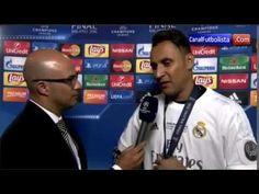 Entrevista Keylor Navas Real Madrid vs Atletico Final Champions League 2016 - http://tickets.fifanz2015.com/entrevista-keylor-navas-real-madrid-vs-atletico-final-champions-league-2016/ #UCLFinal
