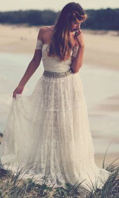 The Josee dress, one of my favourites x  #graceloveslace #bohobridal #bohemian #wedding #love www.graceloveslace.com.au