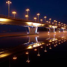 'Jyväskylä Bridge' by Mikko Suhonen Where To Go, Bridge, Journey, Places, Finland, Bridges, The Journey, Lugares, Bro