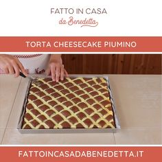Cake Decorating Frosting, Gelato, Italian Recipes, Recipies, Cheesecake, Goodies, Food And Drink, Sweets, Meals