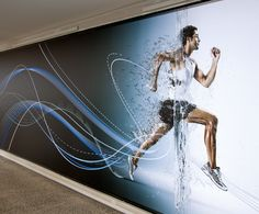 THERE Design Environmental graphic. http://there.com.au/work/Asics_Office