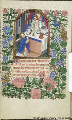 Book of Hours, MS G.9 fol. 67r - Images from Medieval and Renaissance Manuscripts - The Morgan Library & Museum