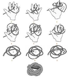 Rock Climbing: How to Tie a Double Bowline KnotRock Climbing Knots: A Beginners Guide - The Adventure JunkiesHow to Tie an Overhand Knot ilovefishing.How to Tie an Overhand Knot ilovefishing. Paracord Projects, Macrame Projects, Foulard Scout, Scout Quotes, Order Of The Arrow, Boy Scout Patches, Decorative Knots, Overhand Knot, Scout Activities