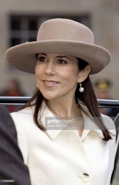 Crown Princess Mary Attends The Opening Of The Danish Parliament In Copenhagen. (Photo by Justin Goff\UK Press via Getty Images)