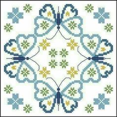 Lace Tulips Stamped Cross Stitch Quilt Blocks - x Biscornu Cross Stitch, Cross Stitch Pillow, Cross Stitch Borders, Cross Stitch Animals, Cross Stitch Kits, Cross Stitch Charts, Cross Stitch Designs, Cross Stitching, Cross Stitch Embroidery