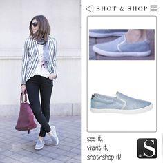 Belén, B a la moda's blogger, shows us how to wear a comfy look #comfy #ShotnShop #fashion #app