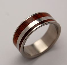 Minter + Richter | Titanium Rings - Wooden Wedding Rings | Titanium Rings | Minter + Richter
