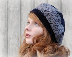 Patchwork Lace Beret Hat #boho #hat #Lace