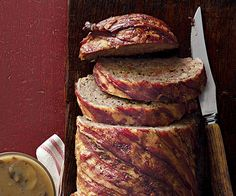Stout and Cheddar Meatloaf