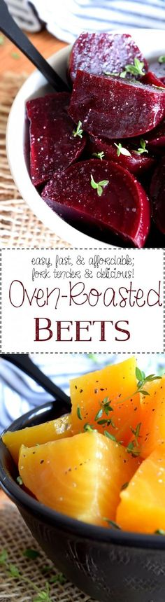 Easy Oven Roasted Beets - Lord Byron's Kitchen