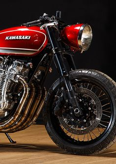 Red Rooster: Playing Chicken with the Kawasaki Kz1000