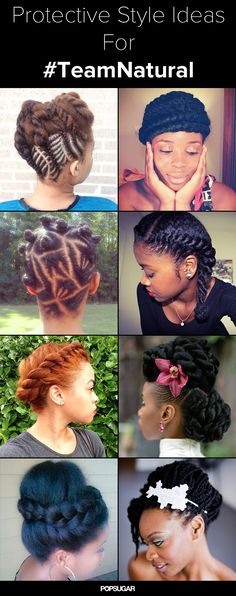 These #naturalhair styles will get you through the long Winter.