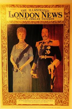 Illustrated London News - King George V and Queen Mary on the cover