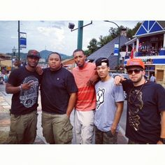 Lecrae, Trip Lee, Andy Mineo, KB, and Tedashii.. 11SIX crew Awesome Christian rappers