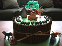 jungle book cakes   Jungle Book Cake — Children's Birthday Cakes