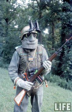 Che Cosa ha Pensato l'Esercito americano Il Soldato del Futuro sarebbe venuto Nel 1959