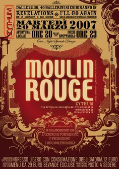 Moulin Rouge Invite Suggestion Moulin Rouge Paris Party Event