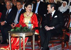 Princess Lalla Meryem & her brother Prince Moulay Rachid attend festivities marking the 1200th anniversary of the imperial city of Fez (Morroco) on April 5, 2008