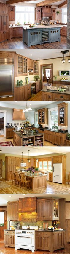 Craftsman kitchen decorative design
