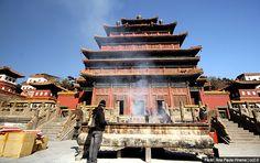Punin Temple tourist site China