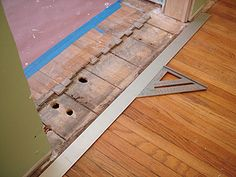 patching damaged wood floors | board, house and woods