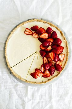 Hazelnut Strawberry Tart — Madeline Hall