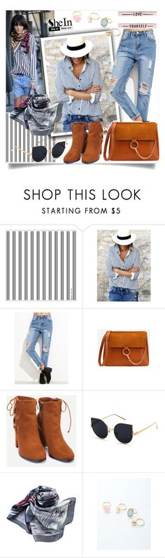 """""""shein"""" by perfex ❤ liked on Polyvore featuring WithChic"""