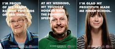 Ad campaign running in Halifax... this group offers support services to sex trade workers...