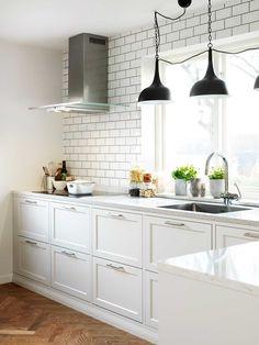 Pärlgrå kök - Gastro   Ballingslöv