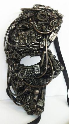 Steampunk / techno fantôme mascarade masque.