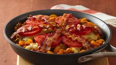 Now you can have this delightful burger flavor in a skillet dish that serves your entire family!
