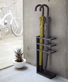 Another great find on #zulily! Black Umbrella Stand #zulilyfinds