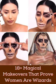 I seriously struggle when it comes to makeup. I mean, I really do. So when I see what some women can do with makeup I'm totally amazed.