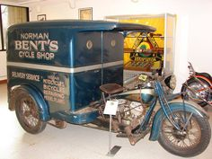 Original condition 1939 Indian Motorcycle Traffic Car