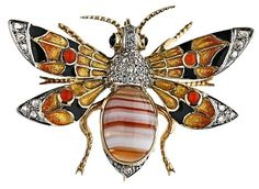Art Deco, Art Nouveau jewelry | Viola.bz  | Call A1 Bee Specialists in Bloomfield Hills, MI today at (248) 467-4849 to schedule an appointment if you've got a stinging insect problem around your house or place of business! You can also visit www.a1beespecialists.com!