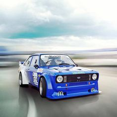 Classic Car News Pics And Videos From Around The World Ford Rs, Car Ford, Ford Motorsport, Ford Pinto, Sports Car Racing, Race Cars, Ford Escort, Escort Mk1, Ford Classic Cars