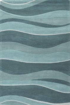 Ocean Landscapes Rug by Kas Rugs