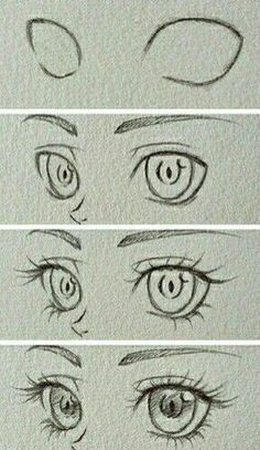 How to draw a realistic eye | RapidFireArt
