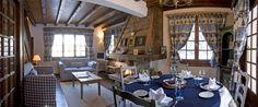 Salle à manger du Chalet de l'Hotel du Jeu de Paume Chamonix