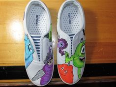 Monsters Inc.. on my shoes.