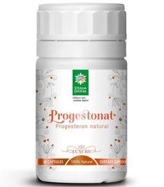 Progestonat 90 cps - Steaua Divina Coconut Oil, Jar, Food, Jars, Meals, Yemek, Glass, Eten, Vase