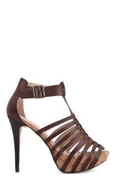 Deb Shops peep toe #sandal $36.90