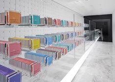 Een kleurrijke chocoladekast - RetailWatching - RetailWatching